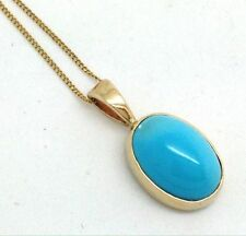 "Turquoise 16 - 17.99"" Natural Fine Necklaces & Pendants"