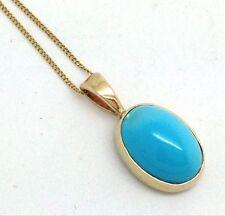 "Turquoise 16 - 17.99"" Natural Fine Necklaces & Pendants"