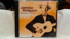Raro Jimmie Rodgers Waiting For a Train UK Importazione CD Wg 2007 cd2913
