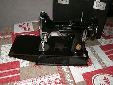 Vintage MACHINE à COUDRE SINGER 221K1 Featherweight Nähmaschine SEWING case BOX