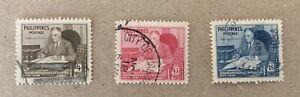 Philippines Sg 687/689 F/U Cat £2,60