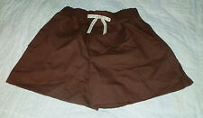 Brownie Girl Scout Uniform Shorts with Pocket-Size L/14-16-NEW NWT