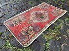 Kitchen rug, Small rug, Doormats, Vintage rug, Handmade rug   1,4 x 2,5 ft