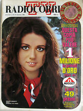 RADIOCORRIERE 49 1968 Gigliola Cinquetti Fabrizio De André Renata Lunati De Vico