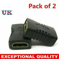 2x HDMI Extender Buchse zu Buchse Adapter Joiner Anschluss für 1080p HDTV 4k DE