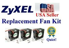 Set of 3x New Replacement Fans for ZyXEL Dimension ES-3124