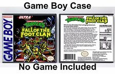 Teenage Mutant Ninja Turtles: Fall of the Foot Clan Game Boy GB Case *NO GAME*