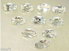 PARCEL 3×5 mm BRIGHT OVAL FINE WHITE TOPAZ R353
