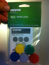 Shure WA621 Colored Identification ID Rings Caps for BLX2 Transmitters