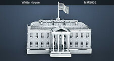 Metal Earth  White House 3D Laser Cut Model Fascinations 010329