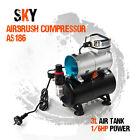 Airbrush Air Brush Compressor for Spray Gun Kit Nail Art Make Up Tattoo Tanning