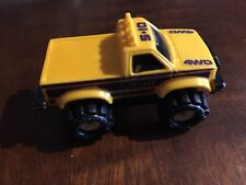 Vintage McDonald's Happy Meal Stomper Yellow S-10 4WD Pickup Truck 1986 Schaper