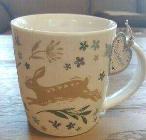 Cooskmart Woodland Collection Natural Mug, Hare/ Fox