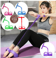 Multifunction Tension Rope Sit-ups Yoga Tensioner Exercise Pull Resistance Train