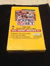 1990 Pro Set Football Cards Series 2 Factory Sealed
