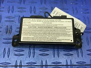 2013 - 2018 CADILLAC ATS SEDAN ONSTAR BACK UP LITHIUM BATTERY MODULE 23117460
