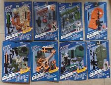 "GI Joe Hall of Fame 8 Sets Weapons Arsenal & Missions Gear for 12"" NEW MOC 1993"