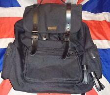 Inuck Slouch*Dr Doc Martens Black Utility Backpack Bag*Skin Goth Punk Grunge*