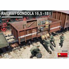 Miniart 35296 1:35th vagón ferroviario Góndola 16.5-18t Escala