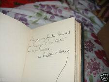 De Nolhac Autour de la Reine Dédicacé Relié PArchemin Ex Libris Tabournel 1929