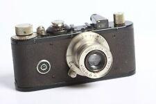 Leica Standard schwarz Nickel #191746 von 1936 mit Leitz Elmar 3,5/5cm Nickel