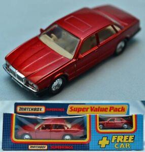 JAGUAR XJ6 MATCHBOX SUPERKINGS 1987 SPECIALS SUPER VALUE PACK *** MINT BOXED ***