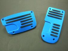 UNIVERSAL PEDAL COVER BLUE/BLACK  MANUAL 3PCS/SET