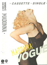 MADONNA VOGUE CASSETTE SINGLE SIRE W9851C 2 TRACKS Synth-pop House Electronic
