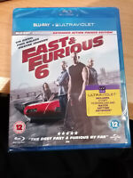 Fast and Furious 6 ( Blu-Ray DVD ) 2013 Brand New & Sealed