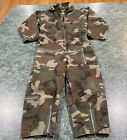 VINTAGE OKINAWA STAR EAGLE CAMOUFLAGE JUMPSUIT OUTFIT YOUTH SIZE SMALL (5-6)