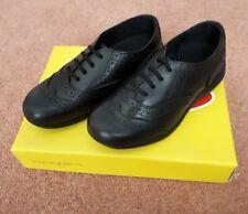 UK 9 /& UK 13 Black Leather Touch School Shoes Toughees Infant Girls Siena UK 8