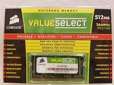 CORSAIR 512 MB SO-DIMM DDR1 SDRAM MEMORY