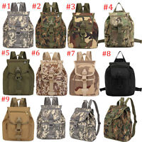 Outdoor Camouflage Tactical Small Backpack Unisex Leisure Cycling Shoulder Bag