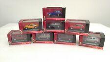 8 Yat Ming 1:72 Die Cast Metal Collection Car Toy Lot Porsche Dodge Audi Nissan