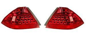 NEW Left & Right Genuine Tail Lights Lamps Pair Set For Honda Accord Sedan 06-07