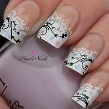 Nail Art Self Adhesive Stickers French Nails Tips Decal Wraps YD23 Salon Quality