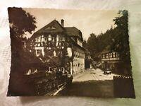 AK alte Ansichtskarte Gaststätte Lochmühle Erlebach Zschopau-Talsperre Foto