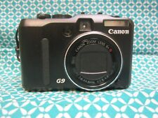 Canon PowerShot G9 Digital Camera 12.1MP Zoom w/ Battery ~ Untested No Charger