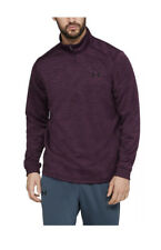 NWT$55 Under Armour Coldgear Big & Tall Fleece 1/2 Zip Pullover Purple 1320745