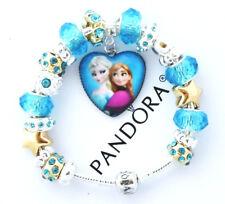 Pandora Charm Bracelet Silver Disney Frozen Elsa Anna European Charms NIB