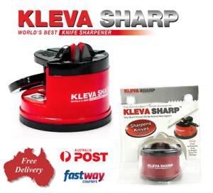 KLEVA Sharp The Best Knife Sharpener Diamond For Knives Blades Scissors Tools