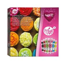 Rainbow Dust Pro GEL Edible Food Cake Colouring Colour Sugarcraft Set X6