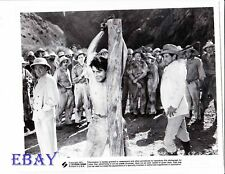 Barechested man being whipped R.I. 71 VINTAGE Photo Island Of Doomed Men