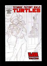 TEENAGE MUTANT NINJA TURTLES #3 RE  RARE SKETCH VA COMICON VARIANT COMIC KINGS