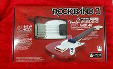 Ps3 Rock Band 3 Wireless Controlador De Guitarra Fender MUSTANG PRO Nueva