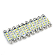 10pcs 41mm-12SMD-3528 LED Car Interior Festoon Dome Bulb Lamp Light 12V White