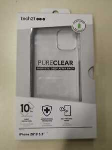 Tech21 Pure Clear Case For iPhone 11 Pro Ultra Thin Drop Protection Back Cover