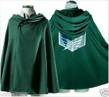 Free Size Cosplay Attack On Titan Shingeki No Kyojin Anime Cloak Cape Costume CA
