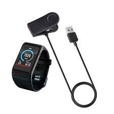 USB Daten Ladekabel Ladegerät Clip Kabel für Garmin VivoActive HR Uhr GPS Watch