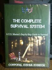 THE COMPLETE SURVIVAL SYSTEM DVD NEW SEALED